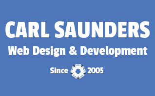 Carl Saunders Web Design & Development